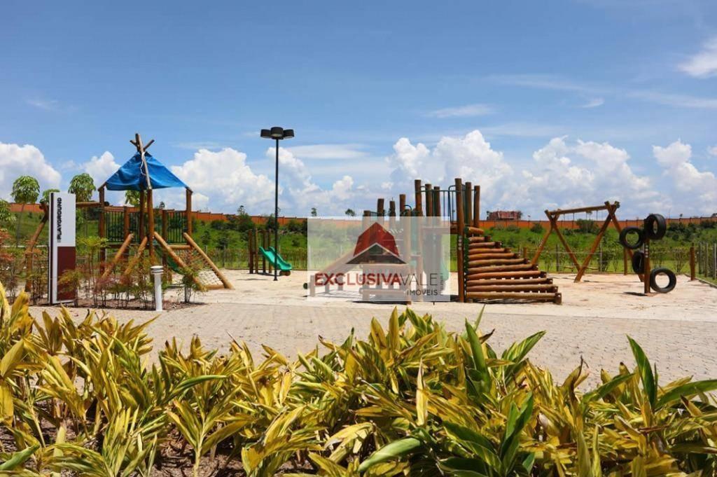 terreno à venda, 461 m² por r$ 370.000,00 - condomínio residencial alphaville ii - são josé dos campos/sp - te0358