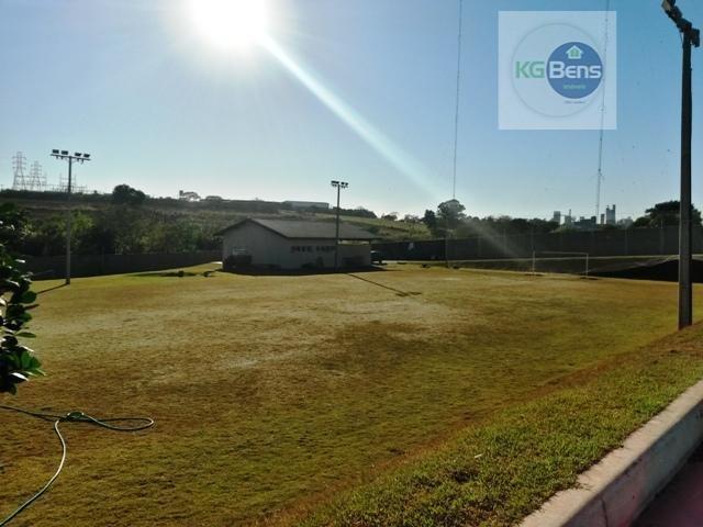 terreno à venda, 462 m² por r$ 375.000,00 - condomínio terras do cancioneiro - paulínia/sp - te0216
