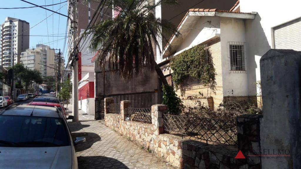 terreno à venda, 464 m² por r$ 1.450.000,00 - centro - são bernardo do campo/sp - te0076