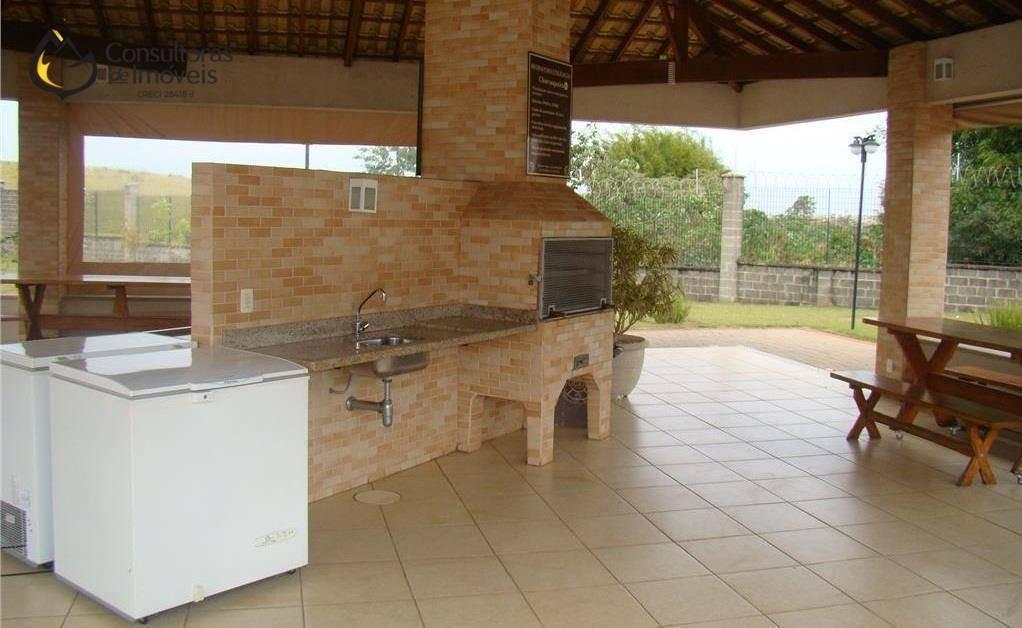 terreno à venda, 467 m² por r$ 290.000,00 - condomínio yucatan - paulínia/sp - te0242