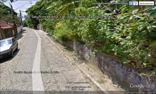 terreno à venda, 475 m² por r$ 200.000 - parque prainha - são vicente/sp - te0022