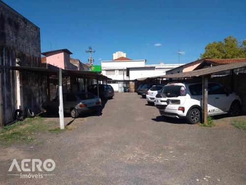 terreno à venda, 484 m² por r$ 370.000 - centro - bauru/sp - te0554