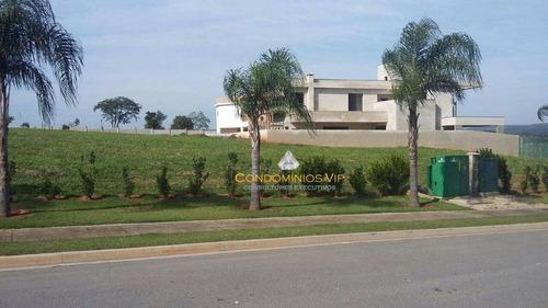 terreno à venda, 490 m² por r$ 350.000,00 - alphaville nova esplanada iii - votorantim/sp - te0159