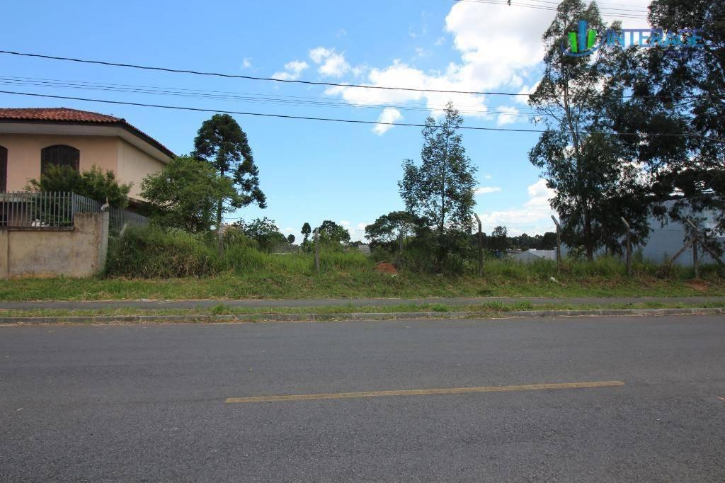 terreno à venda, 494 m² por r$ 159.000,00 - guatupê - são josé dos pinhais/pr - te0154