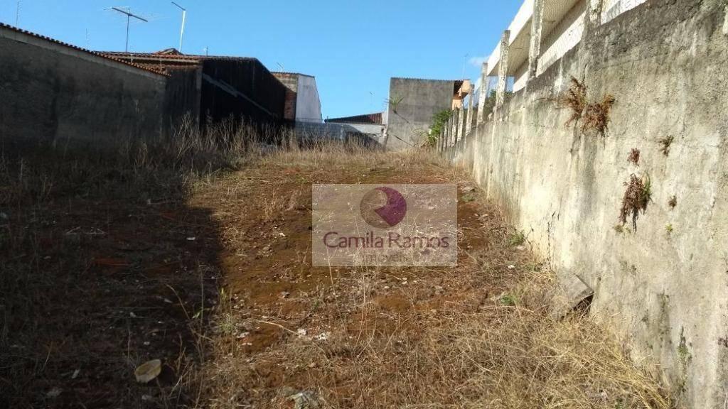 terreno à venda, 500 m² - caxangá - suzano/sp - te0074
