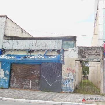 terreno à venda, 500 m² por r$ 1.800.000,00 - centro - são bernardo do campo/sp - te0098