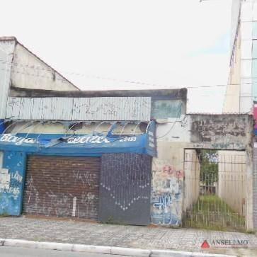 terreno à venda, 500 m² por r$ 2.500.000 - centro - são bernardo do campo/sp - te0098
