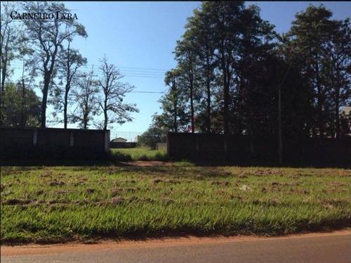 terreno à venda, 5000 m² por r$ 1.500.000 - condomínio jardim alvorada - jaú/sp - te0180