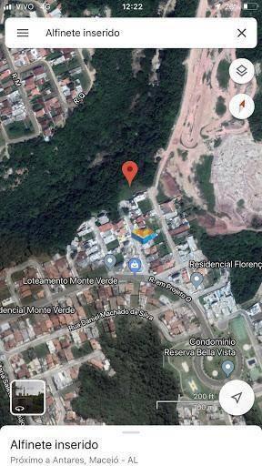 terreno à venda, 503 m² por r$ 110.000 - antares - maceió/al - te0009