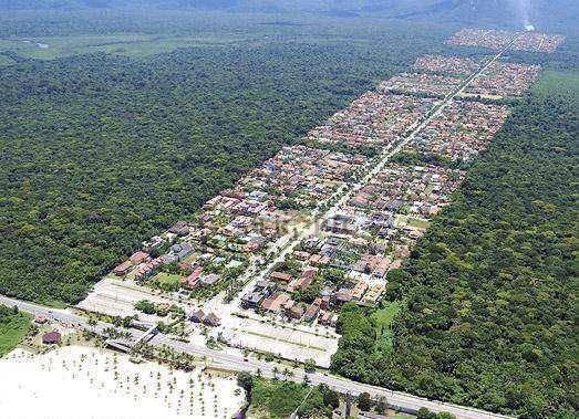 terreno à venda, 504 m² por r$ 210.000,00 - morada da praia - bertioga/sp - te0041