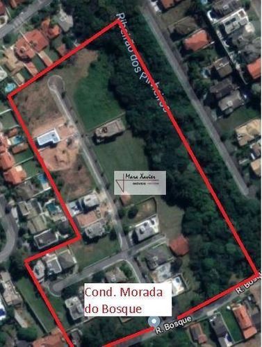 terreno à venda, 519 m² por r$ 280.000 - condomínio morada do bosque - vinhedo/sp - te1075