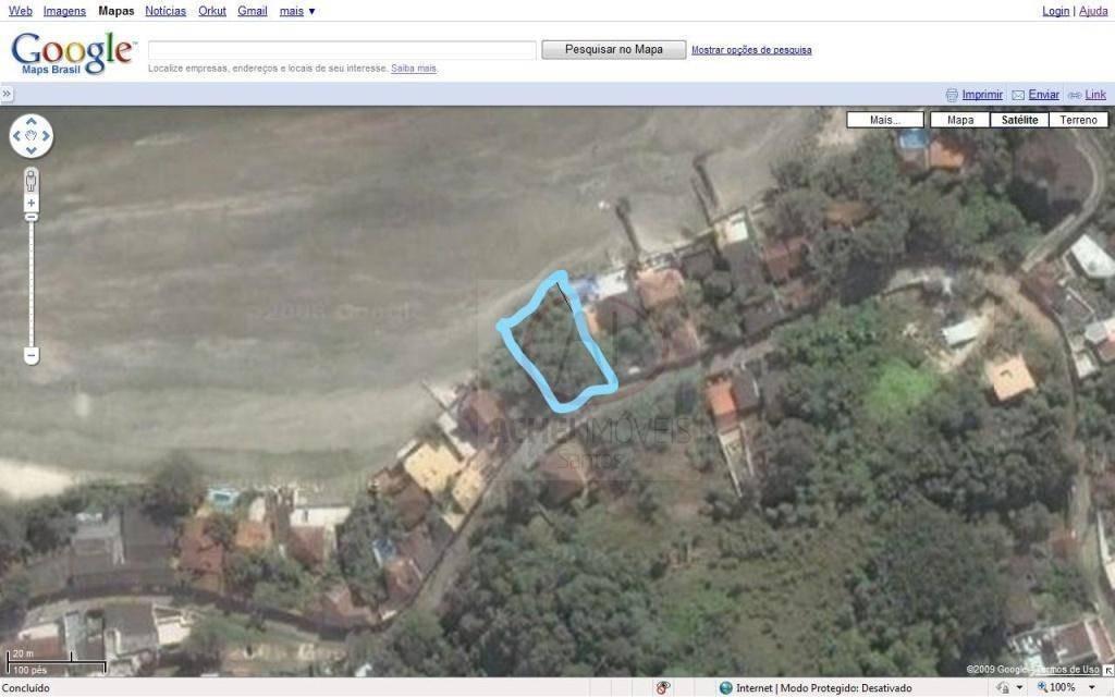 terreno à venda, 540 m² por r$ 320.000,00 - parque prainha - são vicente/sp - te0216