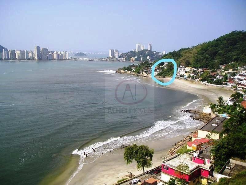 terreno à venda, 540 m² por r$ 400.000,00 - parque prainha - são vicente/sp - te0216