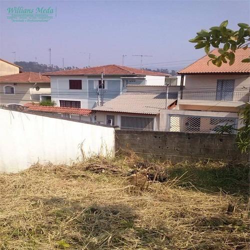terreno à venda, 552 m² por r$ 1.250.000 - vila rosália - guarulhos/sp - te0033