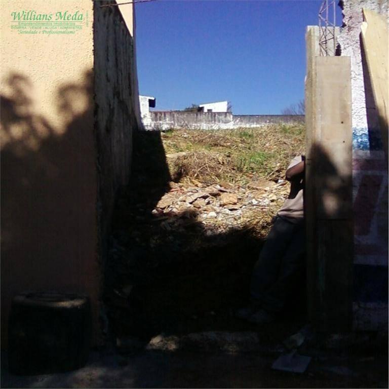 terreno à venda, 552 m² por r$ 850.000,00 - vila rosália - guarulhos/sp - te0033