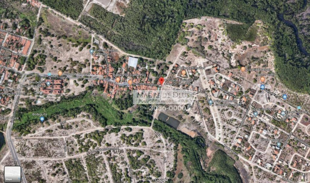 terreno à venda, 5550 m² por r$ 1.221.000,00 - edson queiroz - fortaleza/ce - te0422