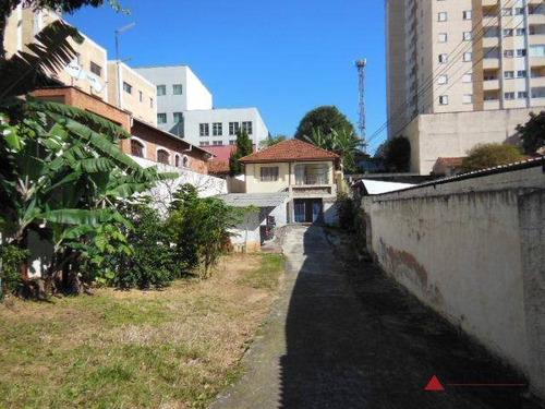 terreno à venda, 556 m² por r$ 2.000.000 - centro - são bernardo do campo/sp - te0099
