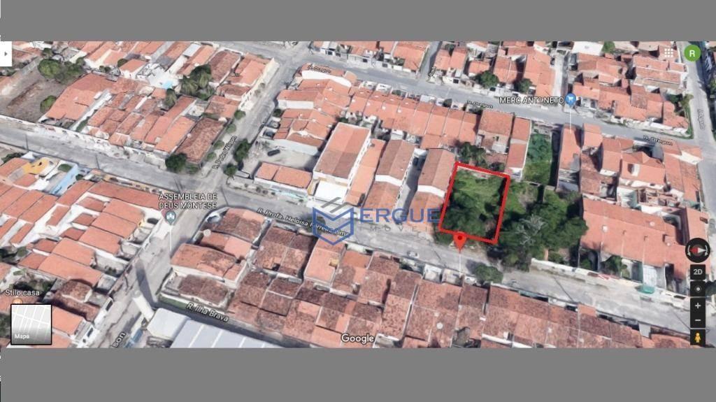 terreno à venda, 558 m² por r$ 280.000,00 - itaperi - fortaleza/ce - te0099