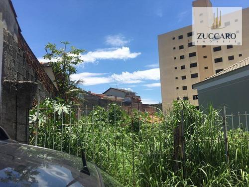 terreno à venda, 570 m² por r$ 750.000,00 - vila rosália - guarulhos/sp - te0776
