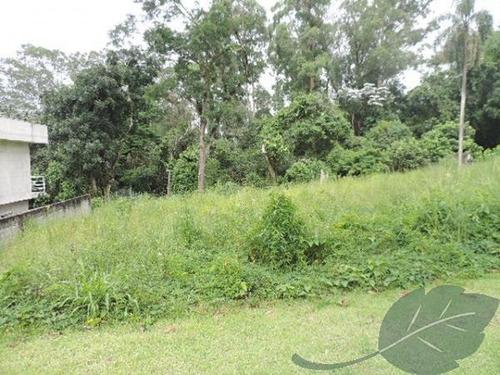 terreno à venda, 582 m² por r$ 495.000 - reserva do viana - granja viana - cotia/sp - te0130
