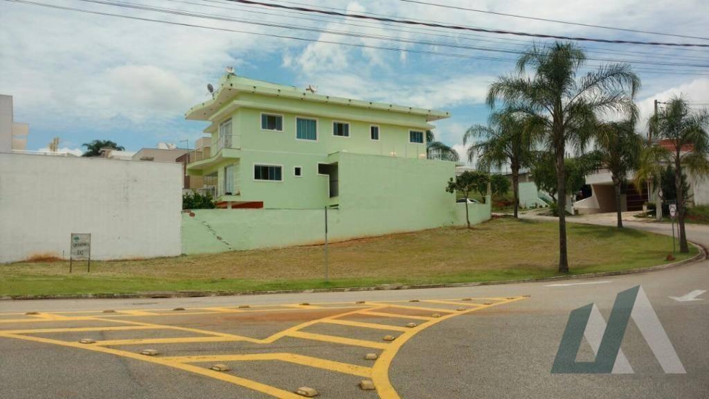terreno à venda, 597 m² por r$ 340.000,00 - condomínio golden park alfa - sorocaba/sp - te0877