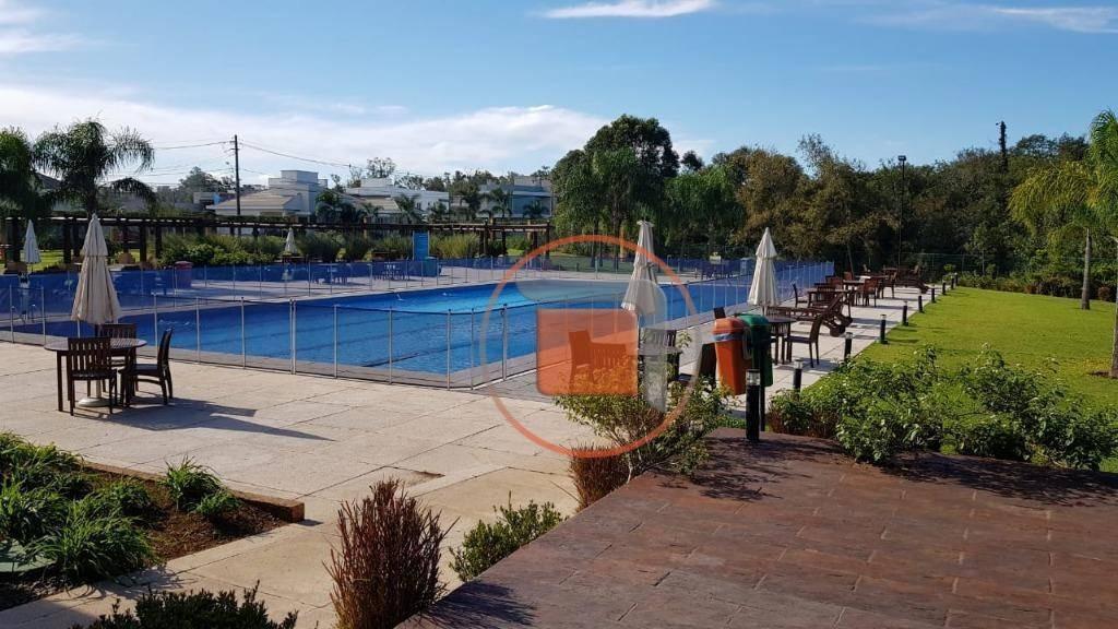 terreno à venda, 599 m² - alphaville - gravataí/rs - te1481