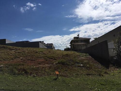 terreno à venda, 600 m² por r$ 235.000 - condomínio figueira garden - atibaia/sp - te1438