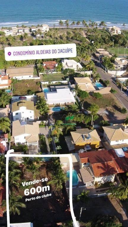 terreno à venda, 600 m² por r$ 260.000 - te0644