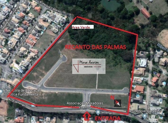 terreno à venda, 600 m² por r$ 390.000 - jardim panorama - vinhedo/sp - te0901