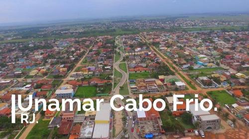 terreno à venda, 600 m² - unamar (tamoios) - cabo frio/rj - te0210