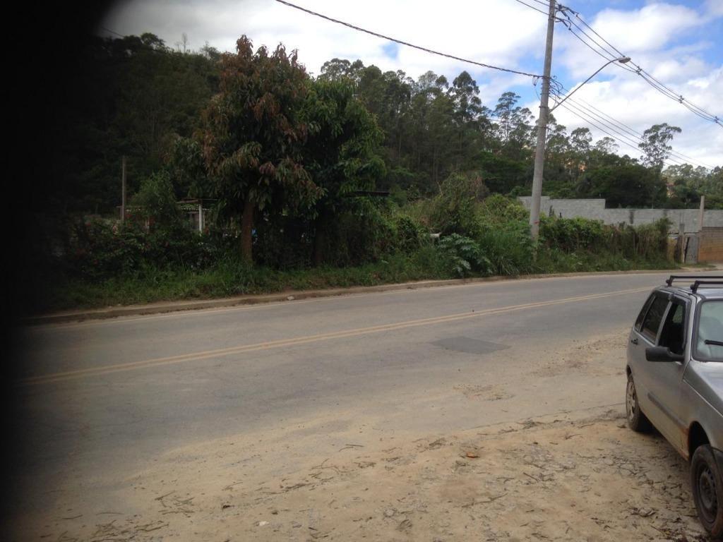 terreno à venda, 6000 m² por r$ 520.000,00 - chácara descansolândia - ferraz de vasconcelos/sp - te0822