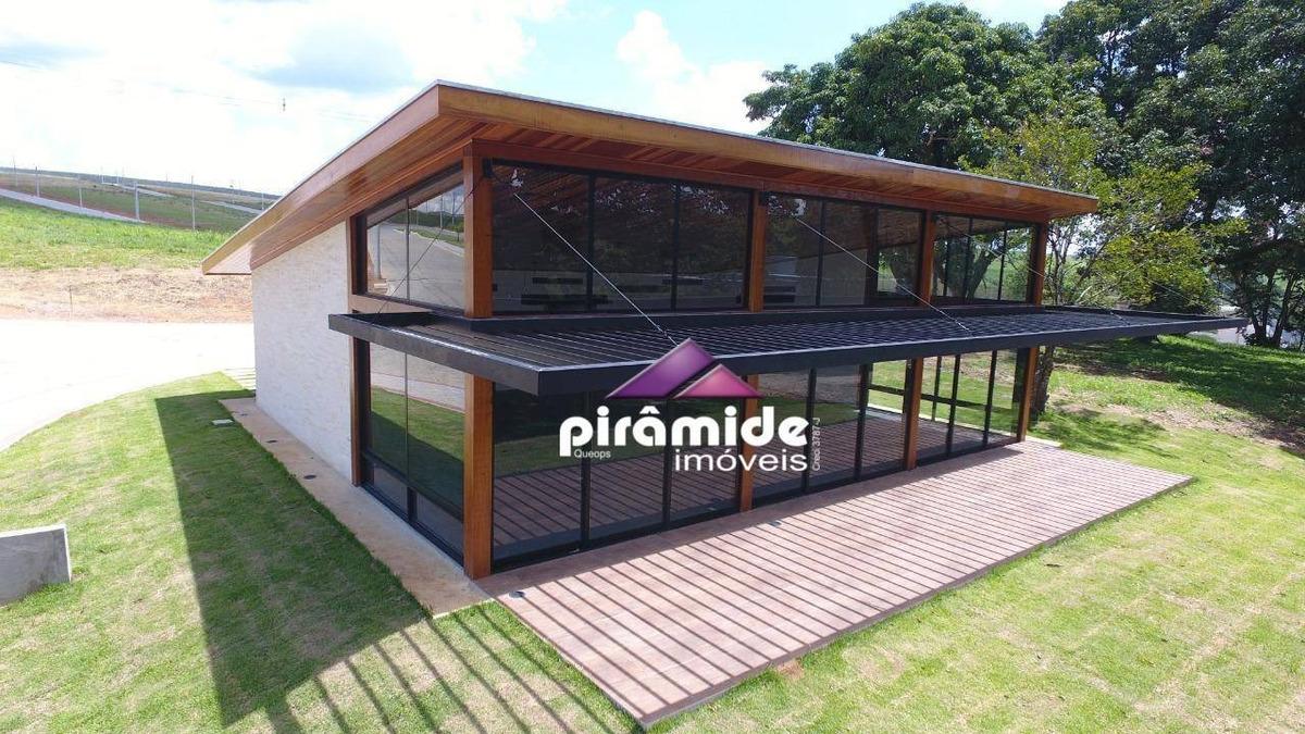 terreno à venda, 604 m² por r$ 215.000,00 - piedade - caçapava/sp - te1029