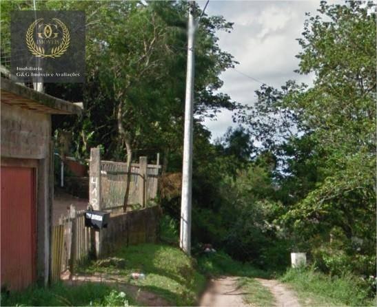 terreno à venda, 609 m² por r$ 20.000,00 - santa isabel - viamão/rs - te0087