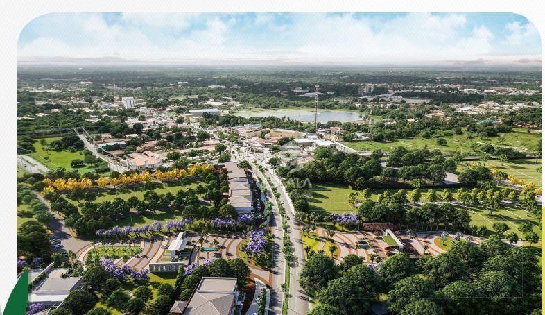 terreno à venda, 609 m², vert natureza, melhor localização, alto padrão, financia - centro - eusébio/ce - te0303