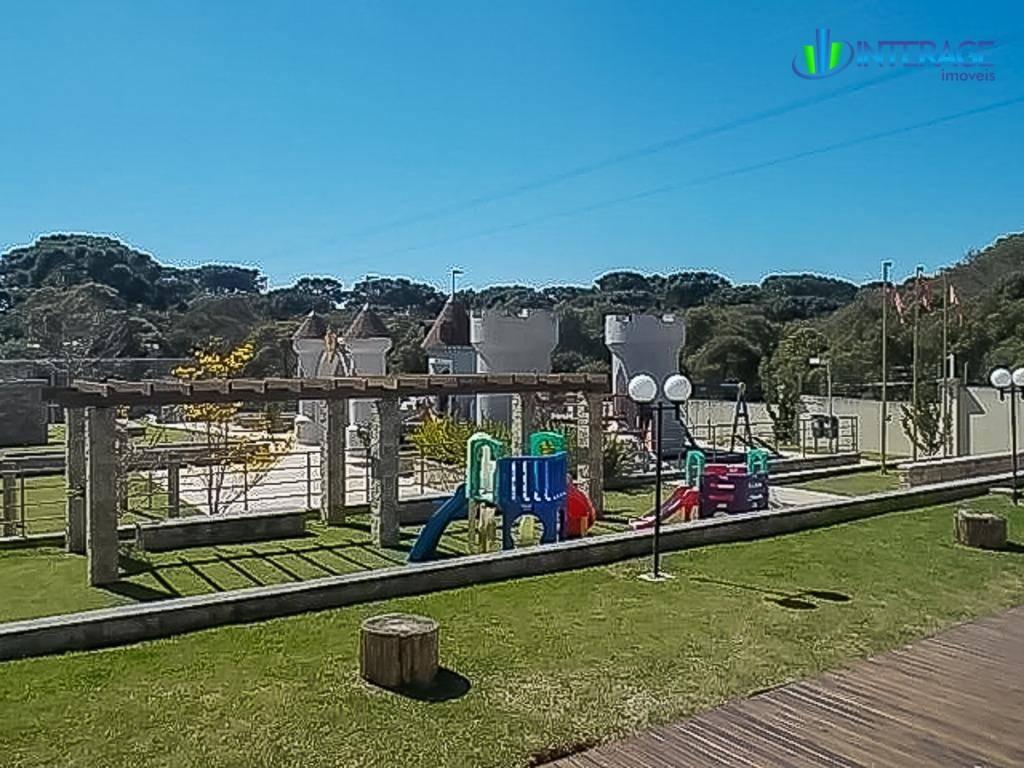 terreno à venda, 611 m² por r$ 450.000,00 - santa felicidade - curitiba/pr - te0084