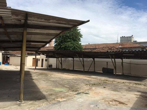 terreno à venda, 617 m² por r$ 1.500.000 - estuário - santos/sp - te0001