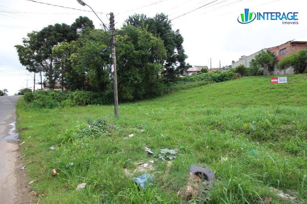 terreno à venda, 629 m² por r$ 320.000 - pinheirinho - curitiba/pr - te0175