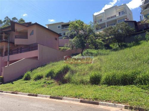 terreno à venda, 651 m² por r$ 445.200,00 - condomínio hills iii - arujá/sp - te0070