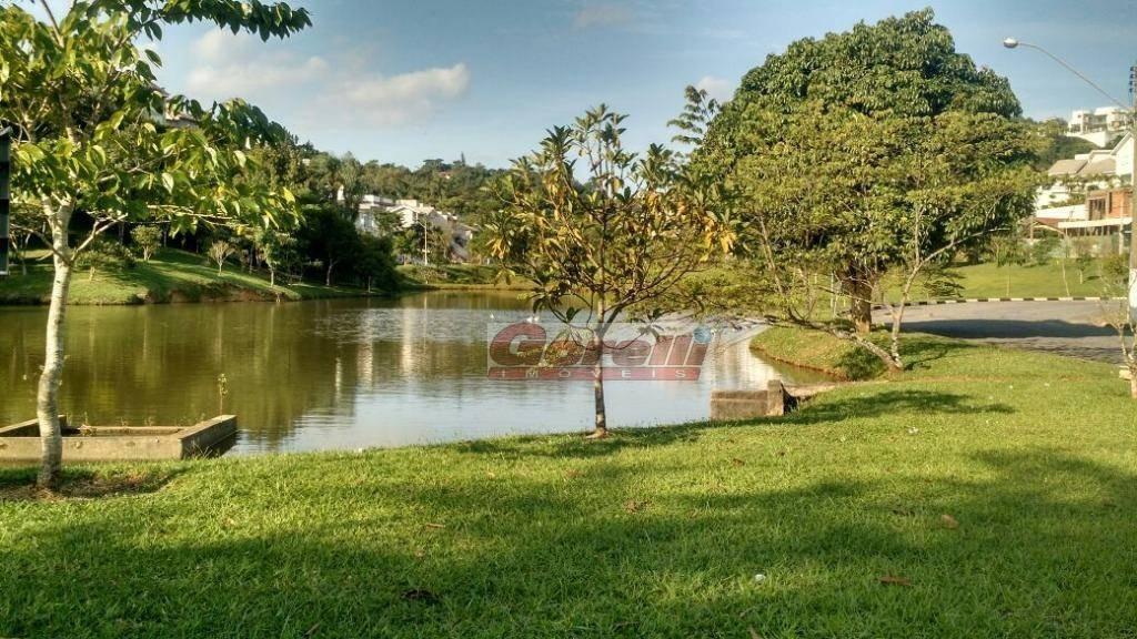 terreno à venda, 651 m² por r$ 450.000,00 - condomínio hills iii - arujá/sp - te0070