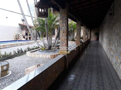 terreno à venda, 675 m² por r$ 2.000.000,00 - barcelona - são caetano do sul/sp - te0137