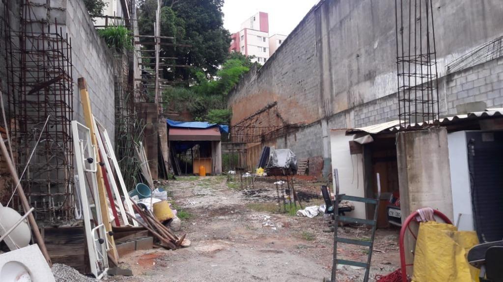 terreno à venda, 680 m² por r$ 750.000 - vila mangalot - são paulo/sp - te0129