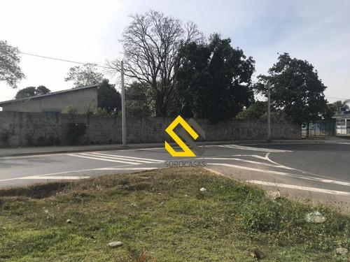 terreno à venda, 706 m² por r$ 500.000 - cajuru do sul - sorocaba/sp - te0874