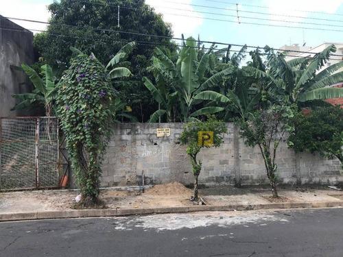 terreno à venda, 761 m² por r$ 514.000 - te0164