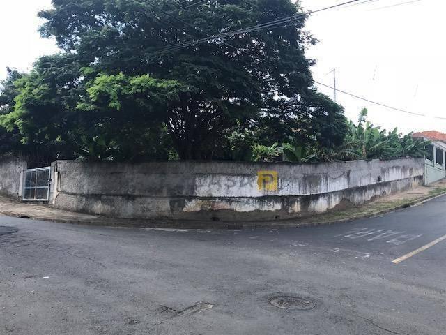 terreno à venda, 761 m² por r$ 630.000,00 - jardim são domingos - americana/sp - te0164
