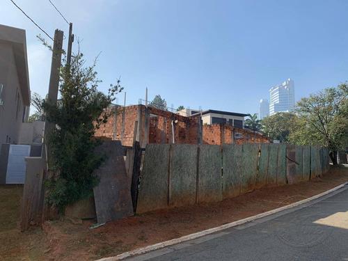 terreno à venda, 769 m² por r$ 2.000.000,00 - alphaville conde ii - barueri/sp - te0004