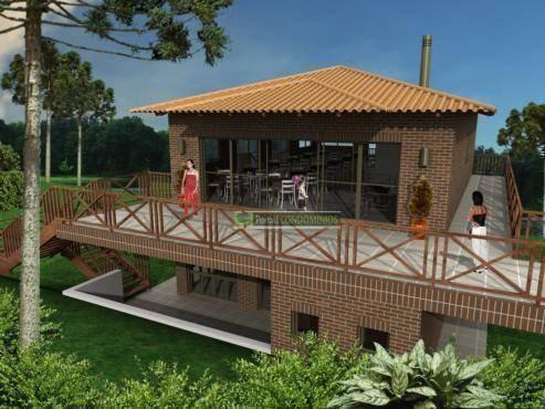 terreno à venda, 780 m² por r$ 290.000,00 - abranches - curitiba/pr - te0421