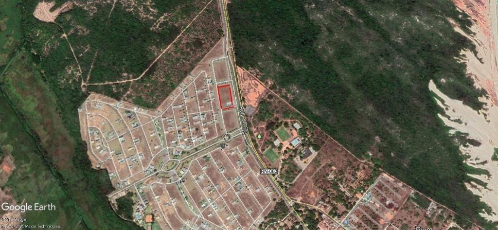 terreno à venda, 809 m² por r$ 450.000,00 - pium (distrito litoral) - parnamirim/rn - te2300