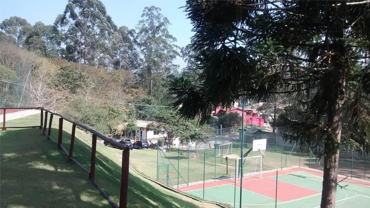 terreno à venda, 836 m² por r$ 245.000,00 - granja viana - embu das artes/sp - te7019