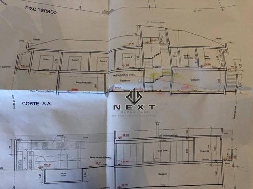 terreno à venda, 840 m² no residencial tamboré 11 - alphaville - sp - te0043