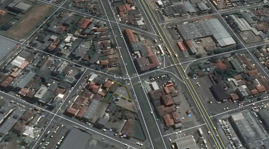 terreno à venda, 897 m² por r$ 1.500.000,00 - centro - são josé dos pinhais/pr - te0042